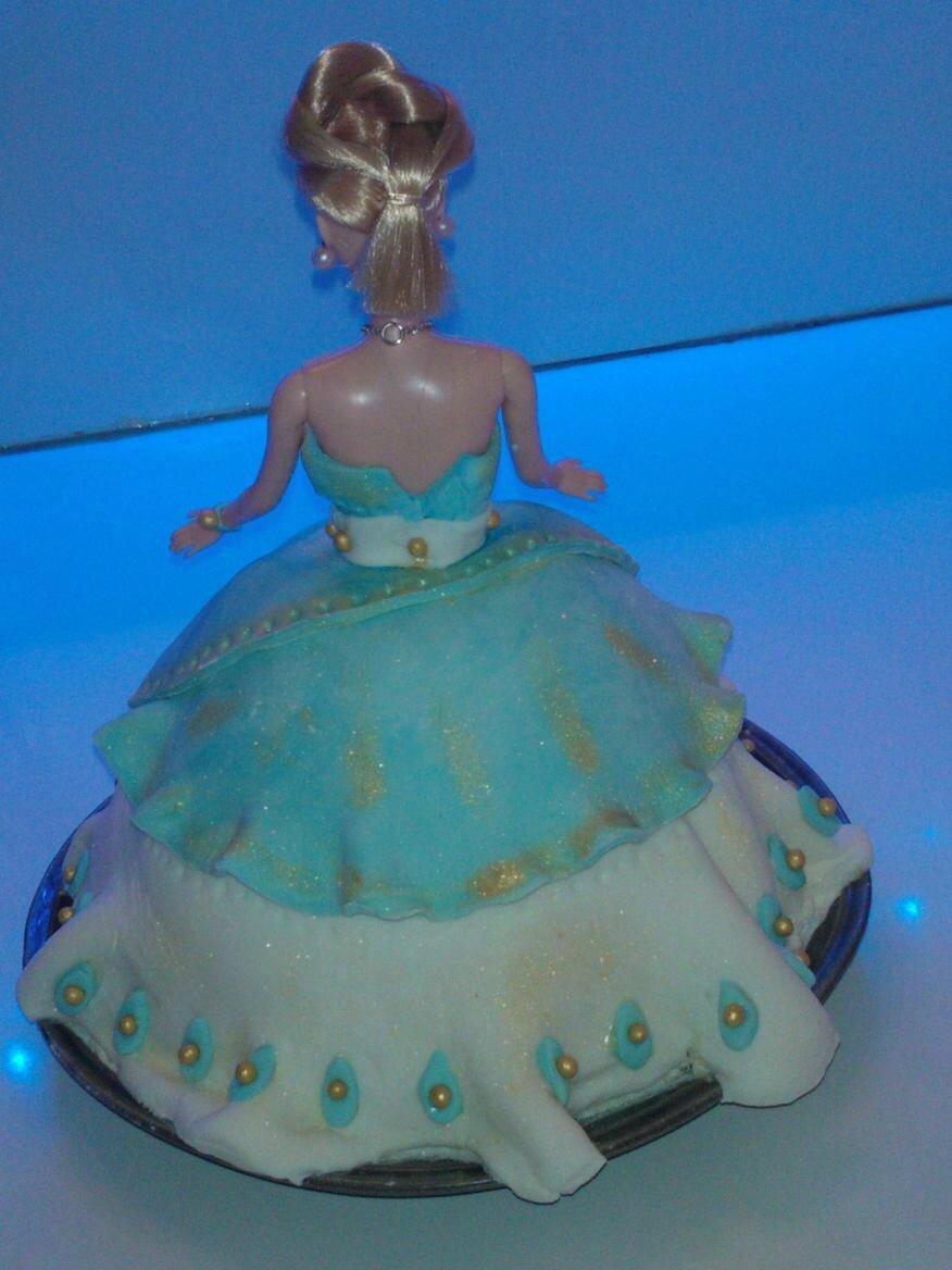 gteau princesse pour un anniversaire dune petite fille de 7 ans