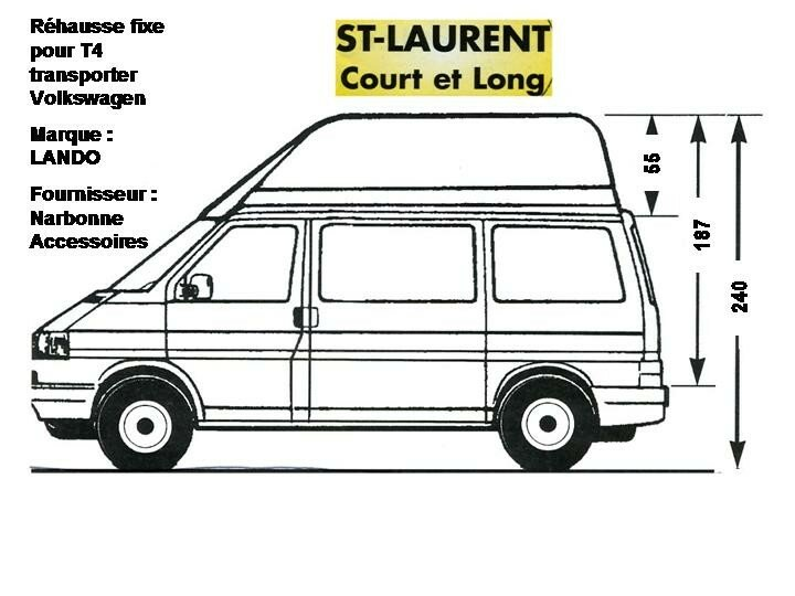 Volkswagen t5 transporter dimensions related keywords for Interieur camping car