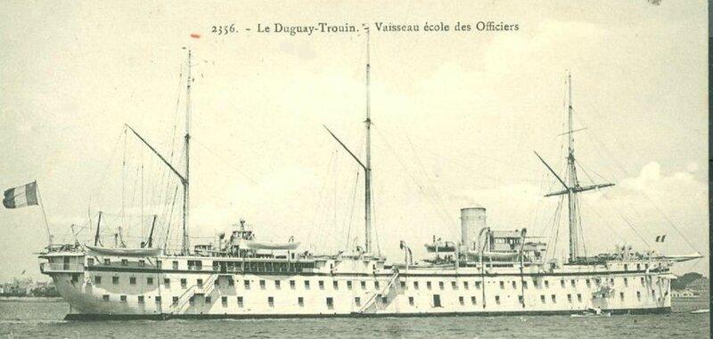 cuirassier école Duguay-Trouin