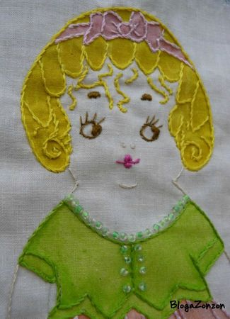 rag doll embroidery