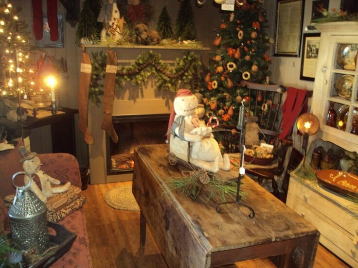Rustic christmas le cottage de gwladys - Decoratie cottage montagn e ...