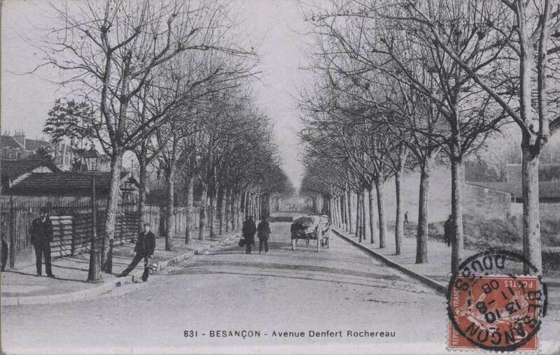 avenue denfert rochereau 1908