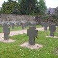 Le 11 novembre au cimetière allemand de tréguier...