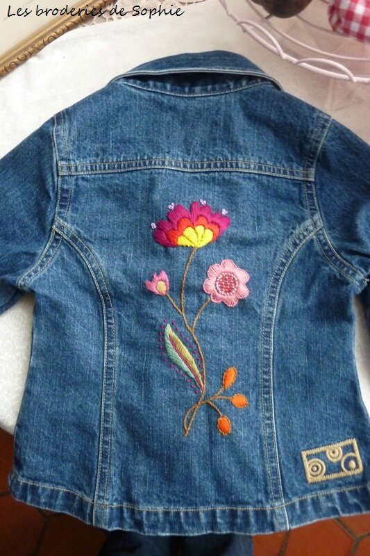 Veste en jean's Esther (1)