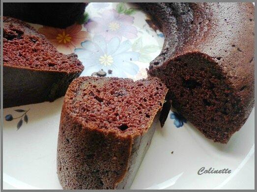 Gâteau chocolat au tofu soyeux de Colinette