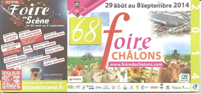 foire chalons 2014