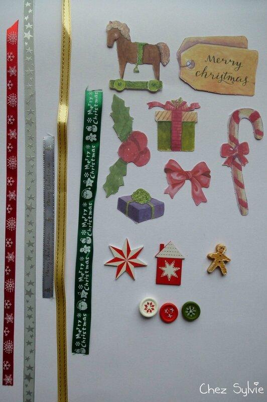 Swap Noël avant Noël scrapbidules