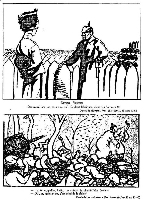 Dessins de guerre Verdun23