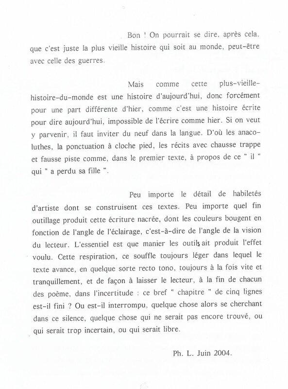 Préface de Philippe p