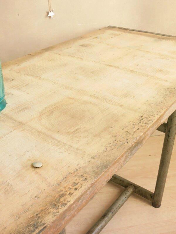 Table industriel 3