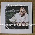 CD promotionnel Goodbye Lulllaby-version australienne (2011)