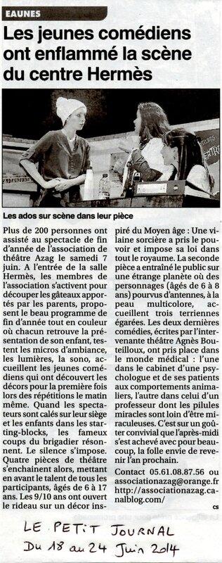 article Le Petit Journal