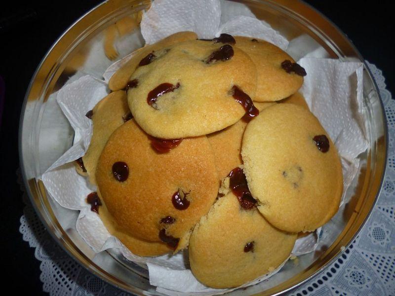 Cookies au Carambars ( Gouter, recette facile et rapide)