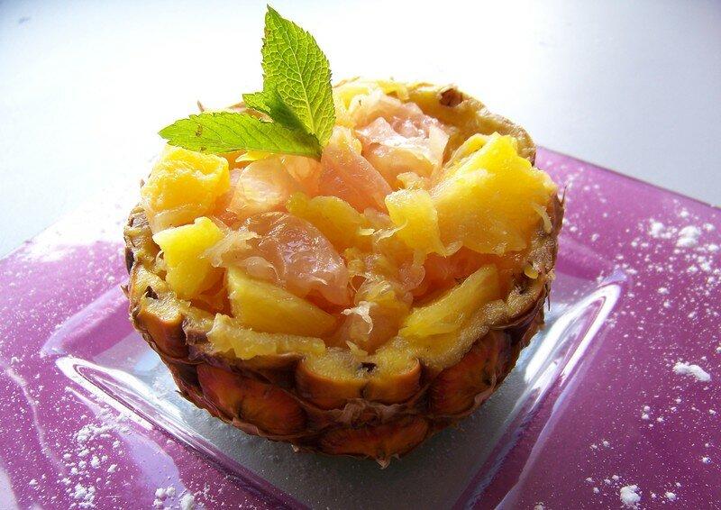 Coupe ananas d coupe ananas trancheur dananas zesteur eplucheur en acier inoxydable et coupe - Conservation ananas coupe ...