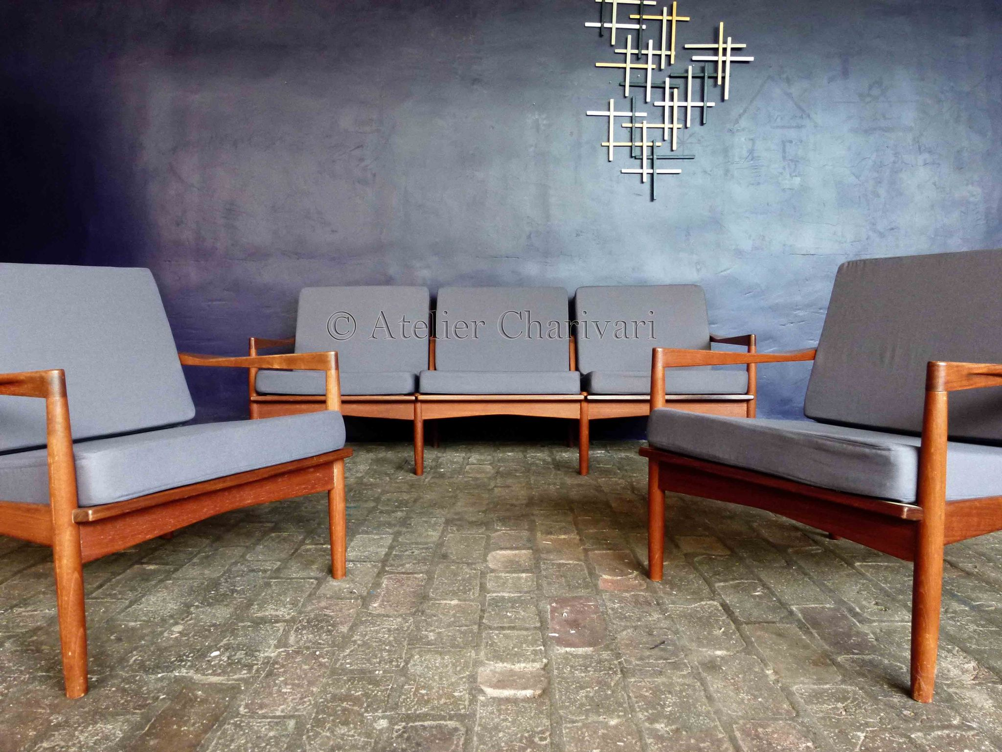 Banquette scandinave - Canape scandinave occasion ...
