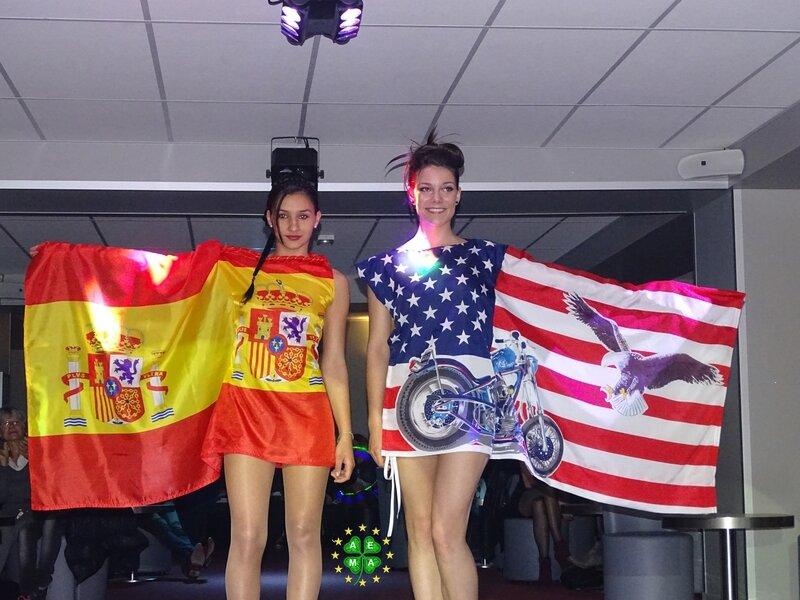 Robes drapeaux 1