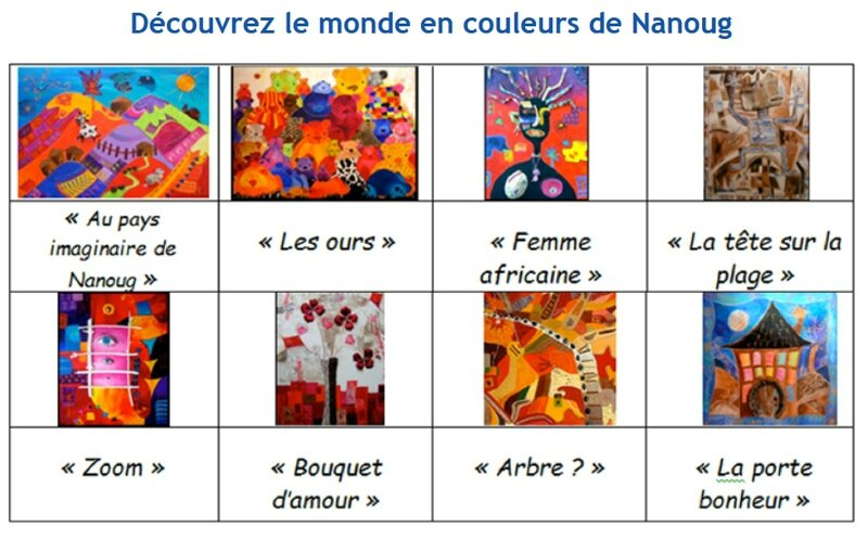 LES 8 OEUVRES