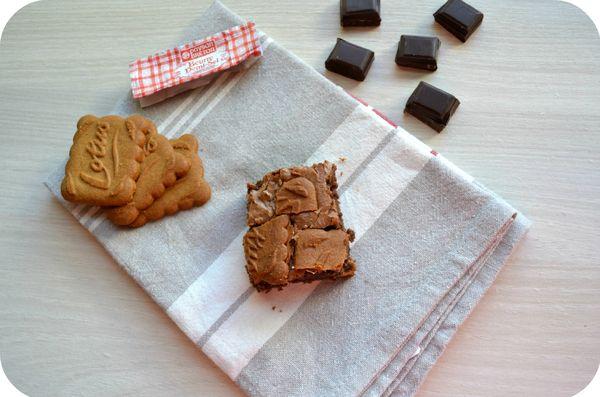 Brownies spéculoos2