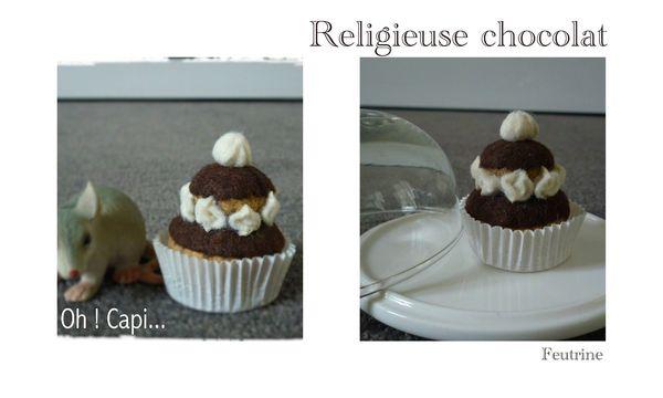 Défilé 17 religieuse chocolat