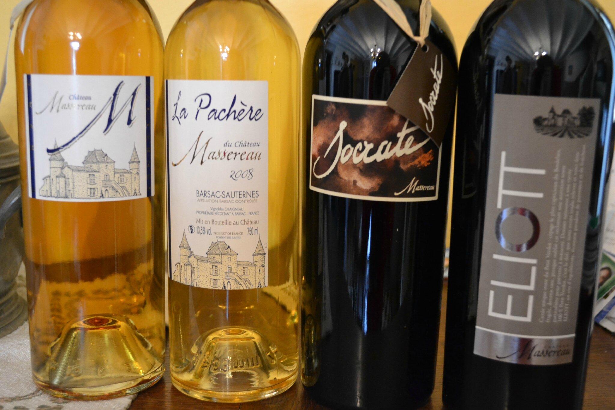 bouteilles de la passion