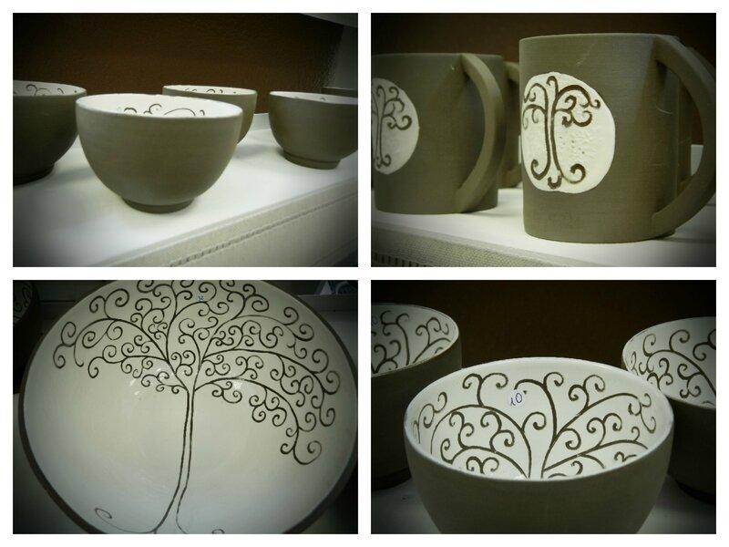 Marion céramique arbre de vie 1