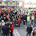 H f - Amiens Manif 5 mars 2013 CGT FO FSU Solidaires