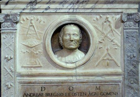 Andrea BREGNO tombe à Santa Maria sopra Minerva