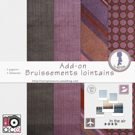 preview add-on Bruissements lointains by margote