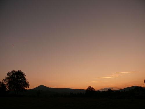 2008 09 28 Le Lizieux aprés le coucher du soleil