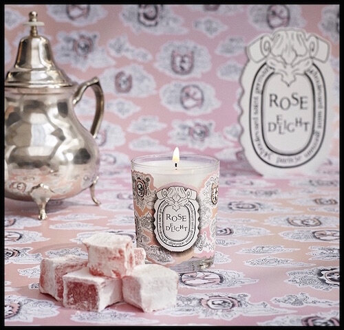 diptyque rose delight bougie 1
