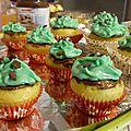 Cupcakes de noël - cupcakes au ferrero rocher