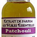 Extrait de parfum patchouli - perfume extract patchouli