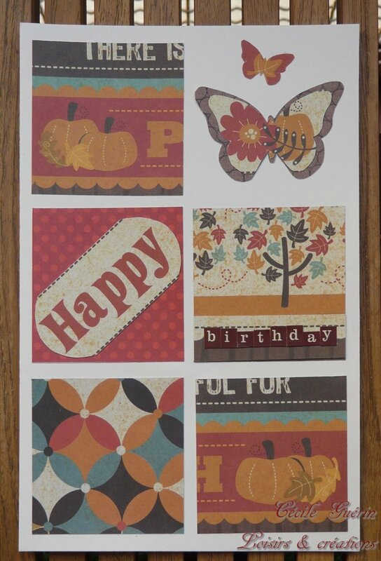 Carte anniversaire - blog
