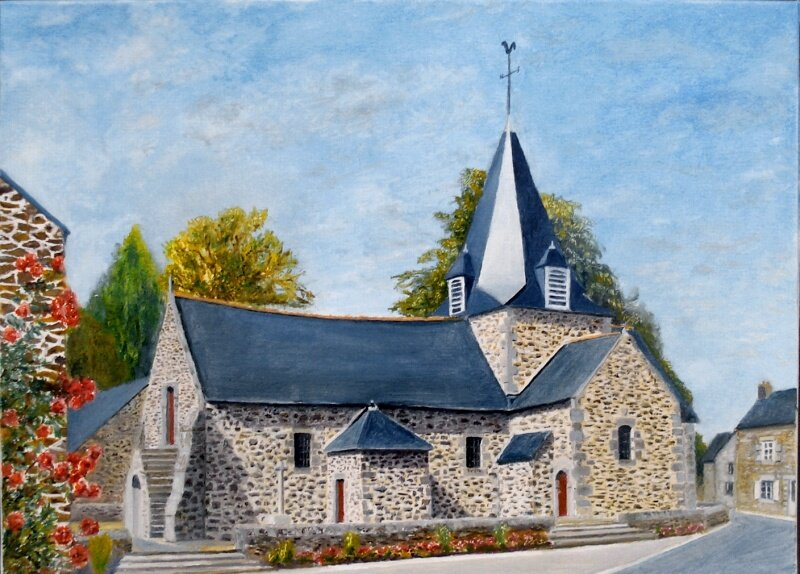 -2013-Eglise de Langrolay/Rance -46 x33-