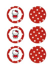 TOPPERS hello kitty rouges