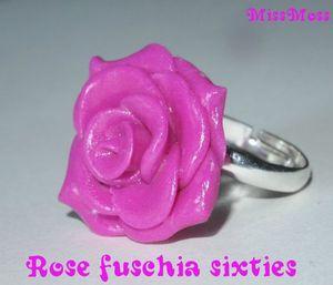 rose fuschia sixties