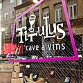 Titulus, caviste et bar à vins vivants