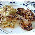 Filet mignon de porc mariné