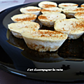 Mini cheesecakes au fromage ail & fines herbes