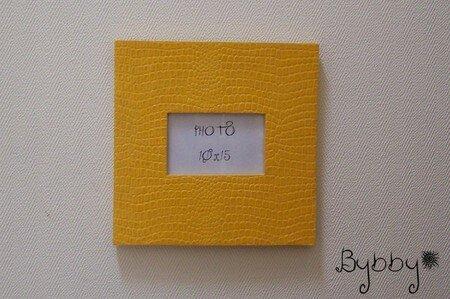 cadre_photo_carton_croco_jaune