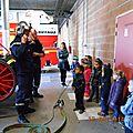 Les petites sections et les pompiers