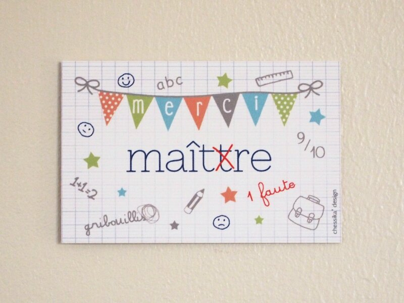carte merci maitre