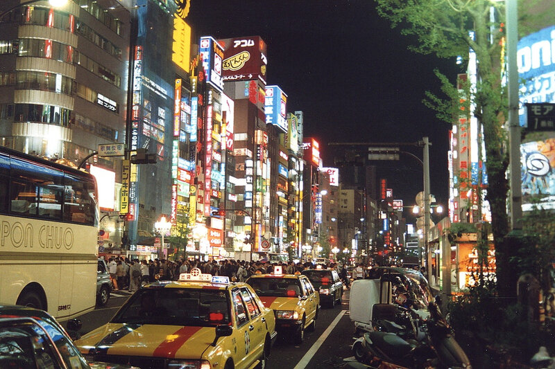 CanalBlog Tokyo 2004 Shinjuku By Night14