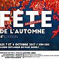 Atelier origami (petit atelier origami) / 7 et 8 - octobre 2017 - 6 ème édition de la fete de l'automne