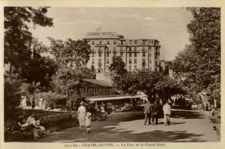 chatel parc grand hotel annees 30