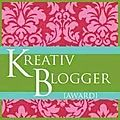 Kreativ blogger award...