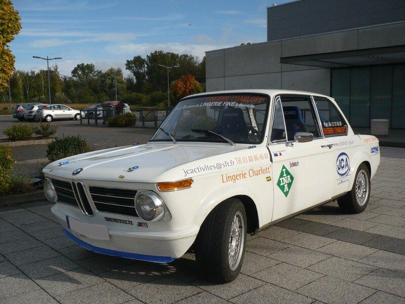BMW 2002 ti équipée pour rallye VHC 2 1970 Weyersheim (1)