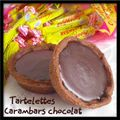 Tartelettes carambars chocolat...