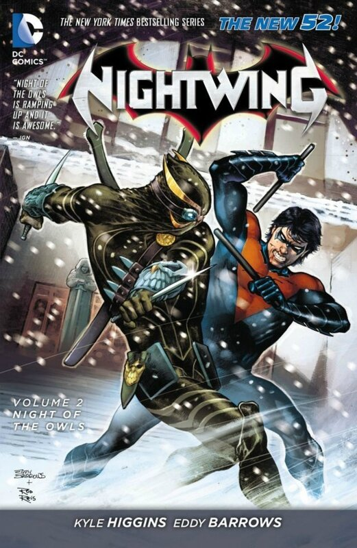 nightwing vol 2 night of the owls TP
