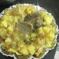 Bifteck et ses pommes de terre